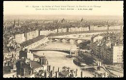 69 LYON 01 / La Saône Et Ponts Saint Vincent, La Feuillée Et Du Change, Quais De La Pêcherie Et Saint Antoine / - Lyon