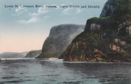 Lower St. Lawrence River, Canada, Capes Trinity And Eternity, Saguenay, Quebec, 00-10s - Saguenay