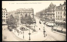 69 LYON 02 / Place De La République Et Rue Du Président Carnot / - Lyon 2