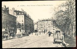 69 LYON 01 / Place Tolozan Et Statue Du Maréchal Suchet / - Lyon