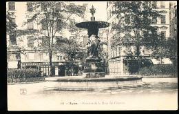 69 LYON 02 / Fontaine De La Place Des Célestins / - Lyon 2