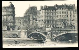 69 LYON 02 / Pont Lafayette Et Place Des Cordeliers / - Lyon