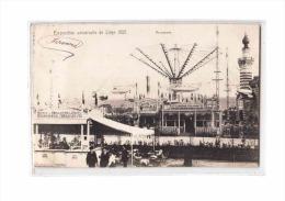 BELGIQUE Liège, Exposition Universelle 1905, Manège, Aéroplanes, Fête Foraine, Ed Nels, 1905 - Liege