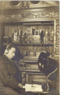 CPA   STAMP HERE  -- écrite  En 1924 TBE ( 2 Scanns  ) - To Identify