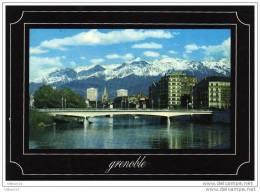 CPM Grenoble,, Porte De France Sur L´isere, Chaine Belledonne - Grenoble