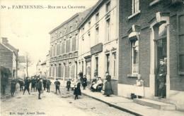 Farciennes - Top Carte Et Top Animation - Rue De La Chaussée -1906 ( Voir Verso ) - Farciennes