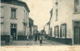 Farciennes - Rue De La Chaussée ( Belle Animation ) -1904 ( Voir Verso ) - Farciennes