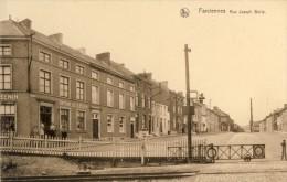 Farciennes - Rue Joseph Bolle -Passage à Niveau -Imprimerie Henin ( Voir Verso ) - Farciennes