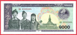 Laos - 1000 Kip 1998 UNC / Papier Monnaie - Billet - Laos - Laos