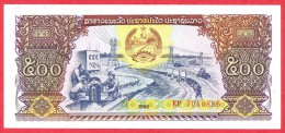 Laos - 500 Kip 1988 UNC / Papier Monnaie - Billet - Laos - Laos