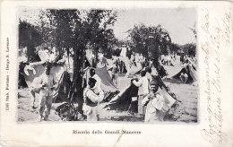 RICORDO DELLE GRANDI MANOVRE - Manovre