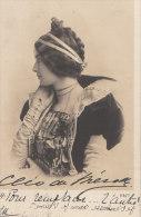 Belle CPA  PORTRAIT Artistique  Artiste  CLEO De MERODE En Costume De Scène 1903 - Entertainers