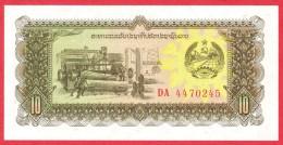 Laos - 10 Kip 1979 UNC / Papier Monnaie - Billet - Laos - Laos