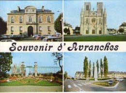 Avranches..multi-vues..la Cathédrale..l'Hôtel-de-Ville..place Patton..le Jardin Des Plantes - Avranches