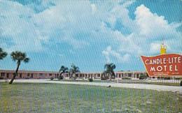Florida Venice Candle Lite Motel 1968