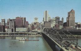 Ph-CPSM Etats Unis Pittsburg (PA-Pennsylvania) Smithfield Street. Bridge, Petit Format - Pittsburgh