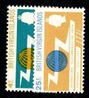 196 X)  Br. Virgin Is. 1965  SG.193/94 - -   Mnh** - British Virgin Islands