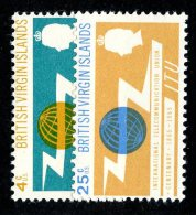 198 X)  Br. Virgin Is. 1965  SG.193/94 - -   Mnh** - British Virgin Islands