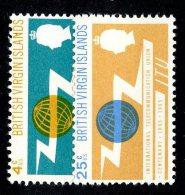 201 X)  Br. Virgin Is. 1965  SG.193/94 - -   Mnh** - British Virgin Islands