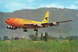 Lote PEP492, Colombia, Postal, Postcard, Avion, Aerocondor, Boeing 720-B, Airplane - Colombia