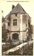 Villers-Cotterets. Porte D'entrée Du Chateau De Noue Brizion. - Villers Cotterets