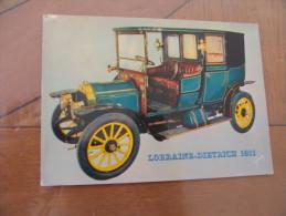 TEUF TEUF...LORRAINE DIETRICH 1911 - Turismo