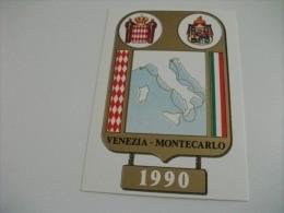 Venezia Montecarlo  1990  Gara Di Durata A Tappe Per Imbarcazioni A Motore - Barche