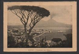 DF / IMAGES / ITALIE / NAPLES / VUE PANORAMIQUE ET PIN PARASOL / PANORAMA DE SAINT MARTIN - Vieux Papiers
