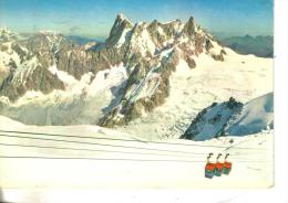 Cartolina Funivie-courmayeur-funivi A Dei Ghiacciai - Cartoline