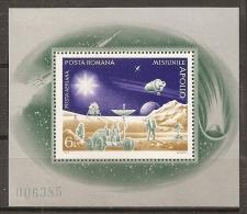 ESPACIO - RUMANÍA 1973 - Yvert #H103 - MNH ** - Espacio