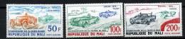 Rep. Mali**  PA N° 179 à 181 - 50e Ann. Des 24 H Du Mans - Mali (1959-...)