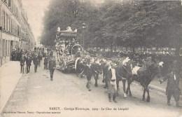 NANCY CORTEGE HISTORIQUE LE CHAR DE LEOPOLD DE BLEGIQUE ATTELAGE FETE 54 - Nancy