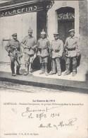 LUNEVILLE PENDANT L'OCCUPATION UN GROUPE D'ALLEMANDS DANS LA GRANDE RUE GUERRE 54 - Luneville