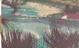 1950 BARBADOS - SANDY BEACH OF BATHSHEBA COAST - Cartes Postales