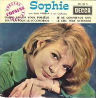 """Sophie  """"  Quand Un Air Vous Possède  """" - Vinyl Records"""