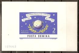 ESPACIO - RUMANÍA 1964 - Yvert #H57 (sin Dentar) - MNH ** - Espacio