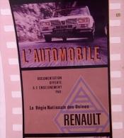 FILM Images Fixes : L'AUTOMOBILE - La REGIE NATIONALE des USINES RENAULT
