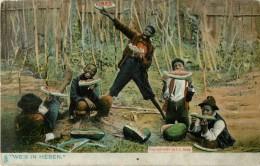 WE S IN HEBEN ?  BY F.L HOWE  ( RAPHAEL TUCK SONS ) - Black Americana