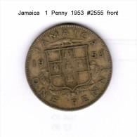 JAMAICA    1  PENNY  1953   (KM # 37) - Jamaica