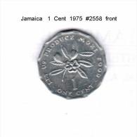 JAMAICA    1  CENT  1975   (KM # 64) - Jamaica