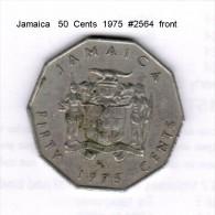 JAMAICA    50  CENTS  1975   (KM # 65) - Jamaica