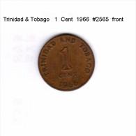 TRINIDAD & TOBAGO    1  CENT  1966   (KM # 1) - Trinidad & Tobago