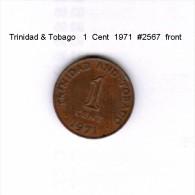 TRINIDAD & TOBAGO    1  CENT  1971   (KM # 1) - Trinidad & Tobago