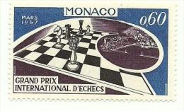 1967 - Monaco 724 Scacchi, - Scacchi