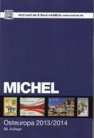 East-Europa Stamps Catalogue 2014 New 60€ MICHEL Part 7 With Polska Russia Sowjetunion USSR Ukraine Moldawia Weißrußland - Tedesco