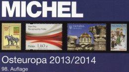 Briefmarken Katalog Ost-Europa 2014 Neu 60€ MICHEL Band 7 Mit Polska Russia SU Sowjetunion Ukraine Moldawien Weißrußland - Tedesco