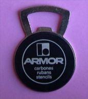 ARMOR - CARBONES RUBANS STENCILS - DECAPSULEUR - OUVRE BOUTEILLE - Apri-bottiglie/levacapsule