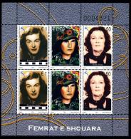 "REPUBLIC OF KOSOVO 2013 ""Kosova Renowned Women"" Minisheet** - Kosovo"