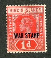 221 X)  Br. Virgin Is. 1916  SG.78b -sc MR1    M* - British Virgin Islands