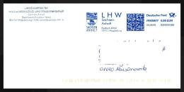 Bund / Germany: Stempel 'Hochwasserschutz, 2009' / Cancel 'Flood Protection', - 39015 Magdeburg - Umweltschutz Und Klima